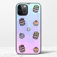 渣男熊甜點iPhone 12 Pro 極光鋼化玻璃殼
