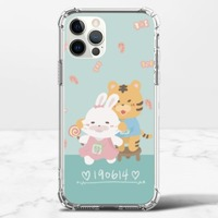 客製小動物iPhone 12 Pro 透明防撞殼(TPU軟款)