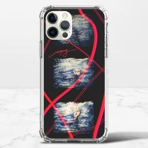 《溺水》iPhone 12 Pro 透明防撞殼(TPU軟款)