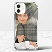 個人肖像訂製產品 iPhone 12 mini 透明防撞殼(TPU 軟款)
