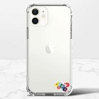 繁花似錦  floral chiciPhone 12 mini 透明防撞殼(TPU軟款)