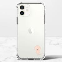 比熊犬的快樂  Happy Bichon ChiciPhone 12 mini 透明防撞殼(TPU軟款)