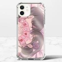 止於天地間_春iPhone 12 mini 透明防撞殼(TPU軟款)
