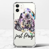 狗iPhone 12 mini 透明防撞殼(TPU軟款)