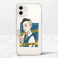 黃胸果鳩iPhone 12 mini 透明殼(TPU軟款)
