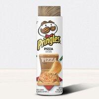 Pringles Potato Crisps Chips Pizza flavored木纹杯盖茶隔保温杯, 13oz