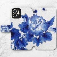 青花瓷A –iPhone 12 mini 皮紋翻盖殼