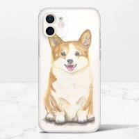 期待。快樂iPhone 12 mini 透明殼(TPU軟款)