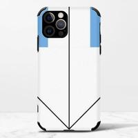 下iPhone 12 Pro Max 皮紋矽膠殼