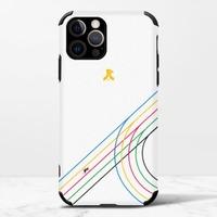 團傑iPhone 12 Pro Max 皮紋矽膠殼