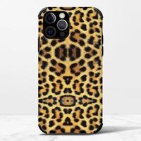 豹紋B –iPhone 12 Pro Max 皮紋矽膠殼