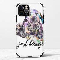 狗iPhone 12 Pro Max 皮紋矽膠殼