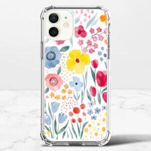 花花iPhone 12 透明防撞殼(TPU軟款)