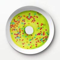 甜甜圈A3 –8吋新骨瓷浅餐盤