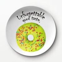 甜甜圈A4 –8吋新骨瓷浅餐盤