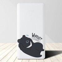 黑熊Workout5000mAh 3合1 皮紋行動電源