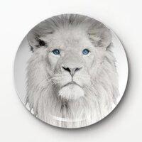獅王A –8吋新骨瓷浅餐盤