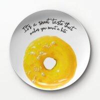 甜甜圈A2 –8吋新骨瓷浅餐盤
