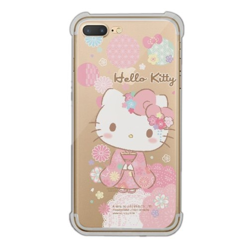 Hello Kitty iPhone 7 Plus Transparent Bumper Case