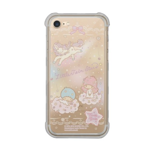 release date: b6ec7 14791 Little Twin Stars iPhone 7 Transparent Bumper Case