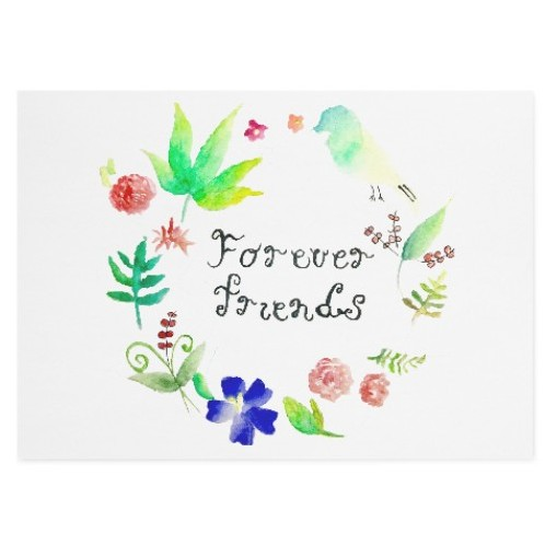 Forever friend - Greeting Card