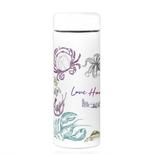 Travel with Seafood Thermal Bottle
