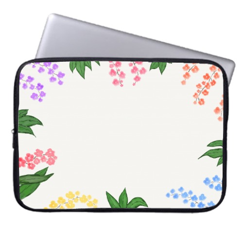 Garden Laptop Sleeve  15 inch